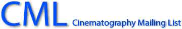 Cinematography Mailing List - CML